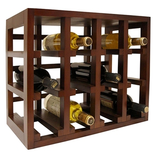 How to choose a wine rack for a small space - Wine rack for small space plan ...