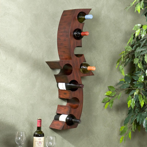 pin pine and wine racks small reclaimed rack
